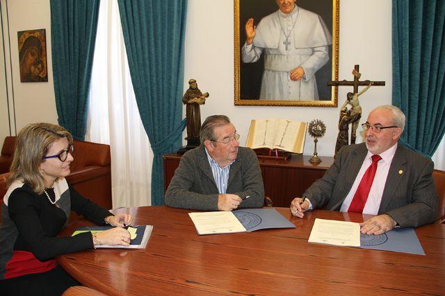 La UCAM y la Real Academia de Medicina colaborarán en materia formativa e investigadora - 1, Foto 1