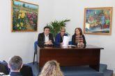La consejera de Cultura asiste al encuentro de museos de la Región en el Museo de la Huerta de Alcantarilla