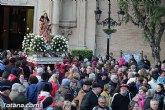 La '7 Televisión Región de Murcia' transmitirá en directo la romería de regreso de la imagen de Santa Eulalia a su santuario el próximo 7 de enero