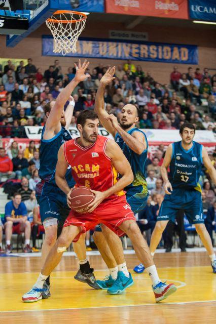 El UCAM Murcia vence en un apretado partido por 76 a 72 al Morabanc Andorra - 4, Foto 4