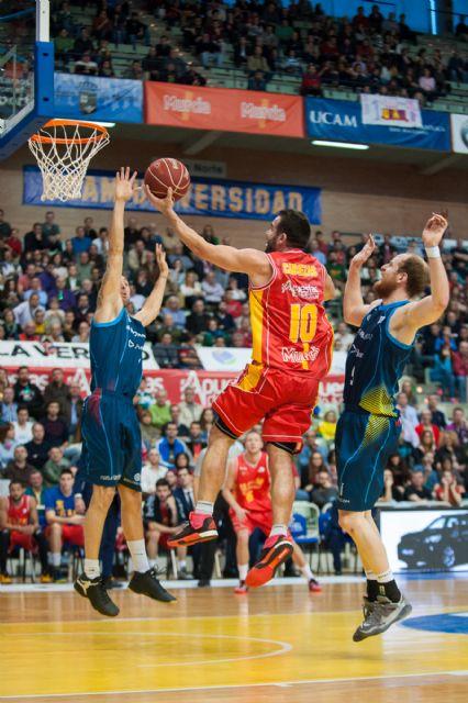 El UCAM Murcia vence en un apretado partido por 76 a 72 al Morabanc Andorra - 5, Foto 5