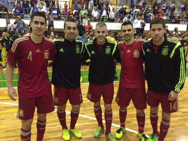 Bebe, Miguelín, Adri, Raúl Campos, y Álex convocados con España para el Pre-Mundial en Holanda - 1, Foto 1