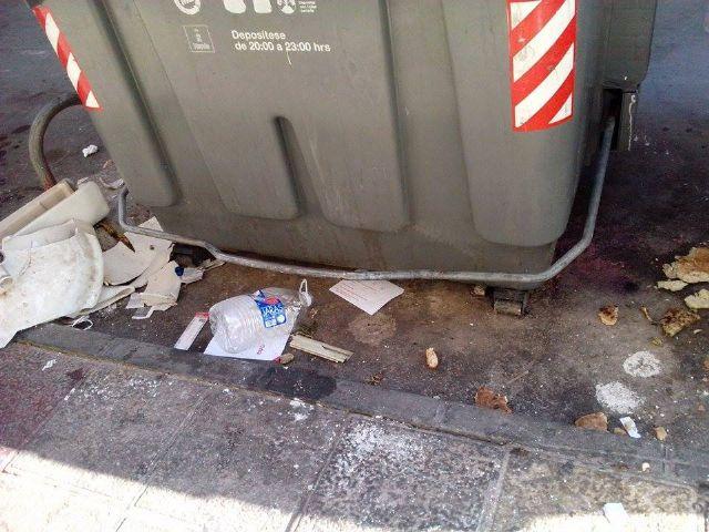 El PSOE denuncia que hay calles de El Carmen por las que no pasa el servicio de limpieza desde hace días - 2, Foto 2