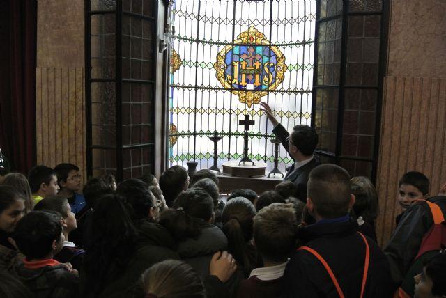 El Alcalde acompaña a los alumnos de visita por el Ayuntamiento - 2, Foto 2