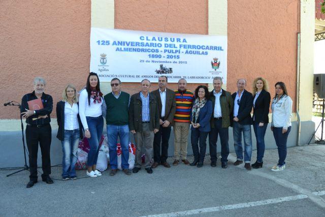 Concluyen los actos programados con motivo del 125 aniversario del ferrocarril Almendricos-Pulpí-Águilas - 1, Foto 1