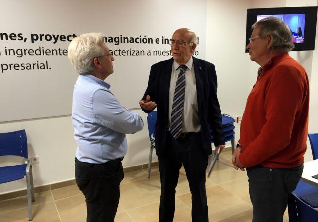 José Ignacio Gras: La experiencia del Centro de Iniciativas Empresariales podemos  incorporarla al Pacto Local por el Empleo - 1, Foto 1