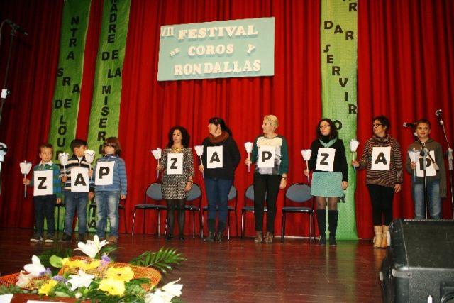 Se celebra el VII Festival de Coros y Rondallas a beneficio de la delegación de Nuestra Señora de Lourdes en Totana - 1, Foto 1