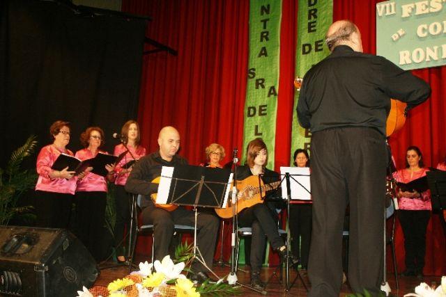 Se celebra el VII Festival de Coros y Rondallas a beneficio de la delegación de Nuestra Señora de Lourdes en Totana - 4, Foto 4