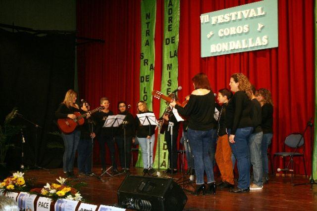 Se celebra el VII Festival de Coros y Rondallas a beneficio de la delegación de Nuestra Señora de Lourdes en Totana - 5, Foto 5