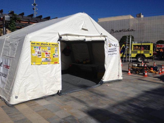 Lorca participa en las jornadas del XX Aniversario de Protección Civil de San Javier como ejemplo en esta área - 1, Foto 1