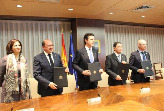 La Región se adhiere a la Organización Mundial del Turismo para potenciar la promoción de Caravaca Jubilar 2017 y del Mar Menor - 2, Foto 2