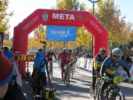 José Andreo, del CC Santa Eulalia, 1º m50 en la clasificación general del circuito btt de Albacete 2015