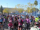 Un total de 550 participantes se dan cita en una nueva edición del 'Día de la Bicicleta'