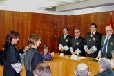 La presidenta de la Asamblea, en la toma de posesión de la nueva fiscal jefe del área de Cartagena