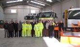 La Consejería de Fomento presenta el dispositivo regional para hacer frente a la nieve y el hielo en la red de carreteras