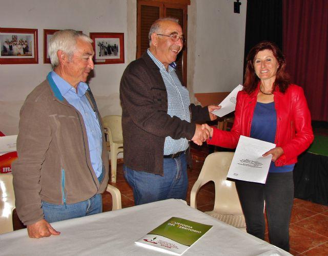 ACUDE firma convenios de colaboración con sociedades de cazadores de Alhama de Murcia, Foto 4