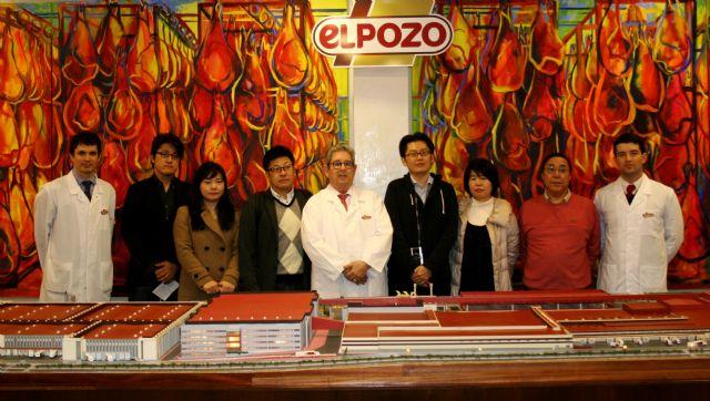 Periodistas japoneses visitan las instalaciones de ElPozo para conocer su sistema productivo, Foto 1