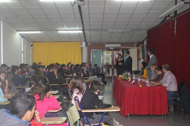 Asamblea con estudiantes de los institutos, Foto 3