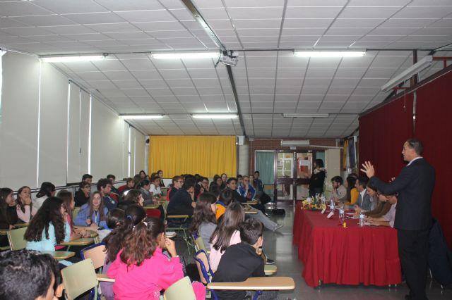Asamblea con estudiantes de los institutos, Foto 5