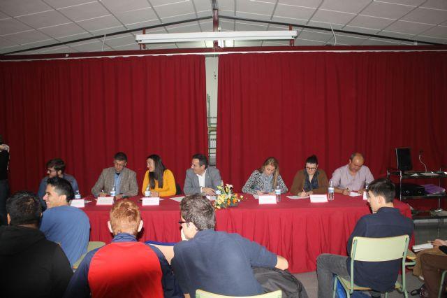 Asamblea con estudiantes de los institutos, Foto 6
