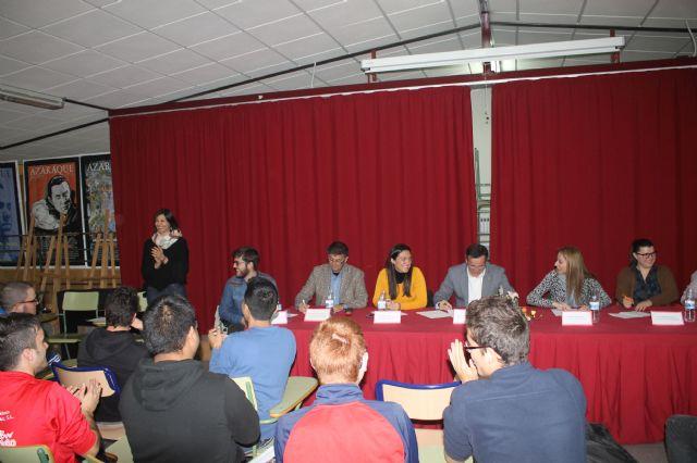 Asamblea con estudiantes de los institutos, Foto 7