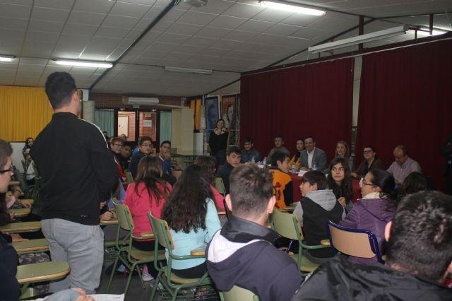 Asamblea con estudiantes de los institutos, Foto 8