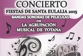 La Agrupaci�n Musical de Totana ofrecer� un concierto Fiestas de Santa Eulalia este viernes