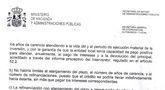 El alcalde hace p�blico un escrito oficial del Ministerio de Hacienda fechado en 2012