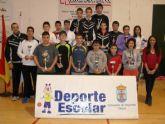 57 escolares participaron en la Fase Local de Tenis de Mesa de Deporte Escolar
