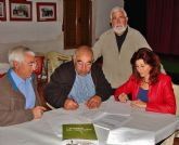 ACUDE firma convenios de colaboraci�n con sociedades de cazadores de Alhama de Murcia