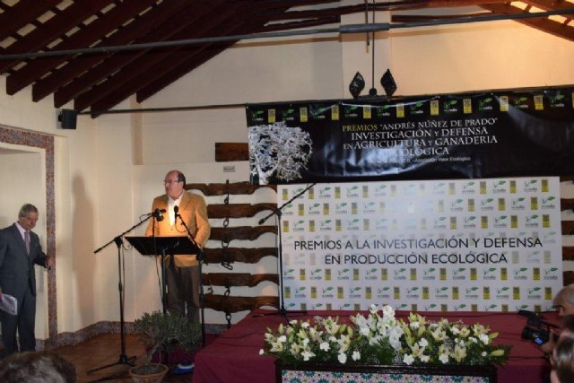 COATO award to the defense and promotion of organic farming Spanish, Foto 1