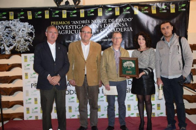 COATO award to the defense and promotion of organic farming Spanish, Foto 3