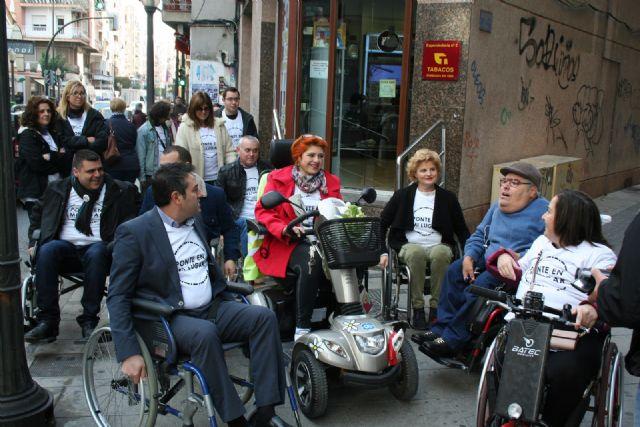 Alcantarilla comenzó a conmemorar el Día Internacional de la Discapacidad - 1, Foto 1