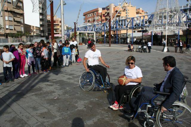 Alcantarilla comenzó a conmemorar el Día Internacional de la Discapacidad - 2, Foto 2