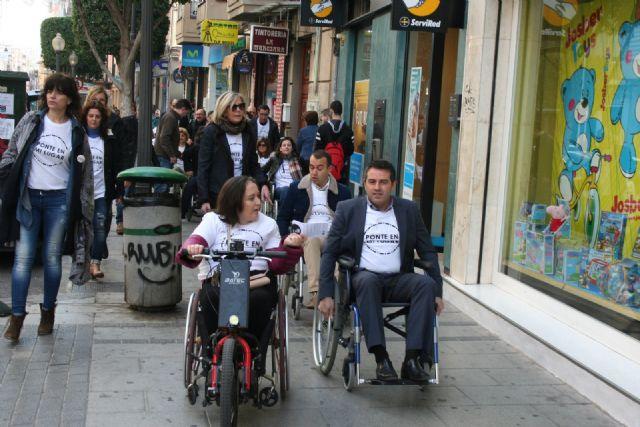 Alcantarilla comenzó a conmemorar el Día Internacional de la Discapacidad - 3, Foto 3