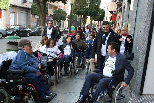 Alcantarilla comenzó a conmemorar el Día Internacional de la Discapacidad - 4, Foto 4