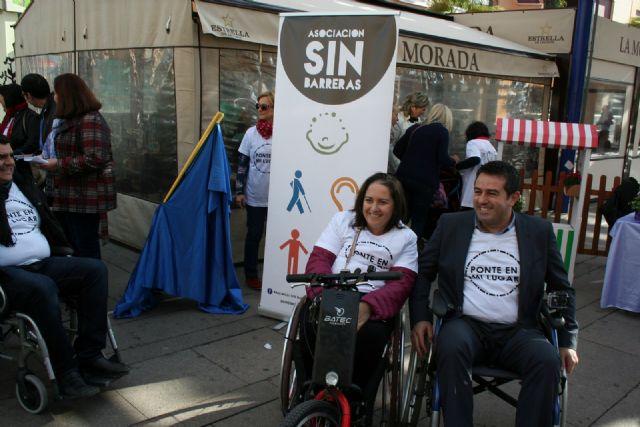 Alcantarilla comenzó a conmemorar el Día Internacional de la Discapacidad - 5, Foto 5