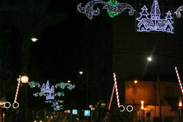 Desde esta noche ya luce el alumbrado navideño en Alcantarilla - 3, Foto 3