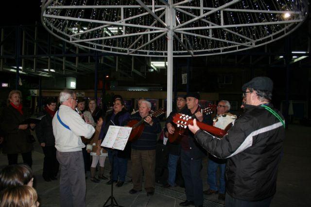 Desde esta noche ya luce el alumbrado navideño en Alcantarilla - 4, Foto 4