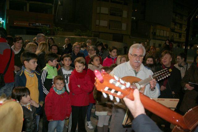 Desde esta noche ya luce el alumbrado navideño en Alcantarilla - 5, Foto 5