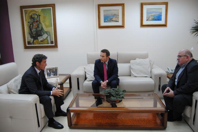 Reunión entre el Alcalde de Torre Pacheco y el Concejal de Seguridad Ciudadana con el Delegado del Gobierno en la Región de Murcia - 1, Foto 1