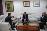 Reunión entre el Alcalde de Torre Pacheco y el Concejal de Seguridad Ciudadana con el Delegado del Gobierno en la Región de Murcia