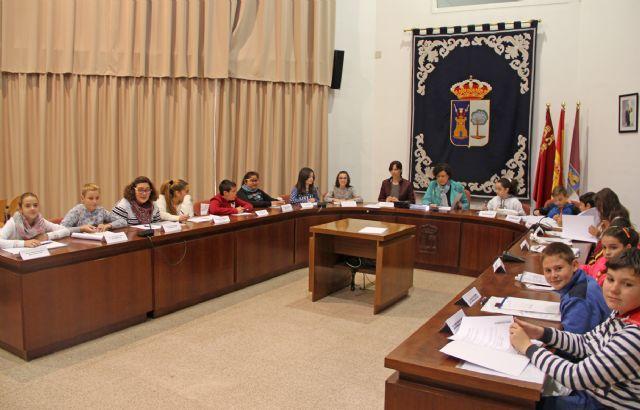 El Ayuntamiento de Puerto Lumbreras acoge Plenos Infantiles para conmemorar el Día de la Constitución - 1, Foto 1