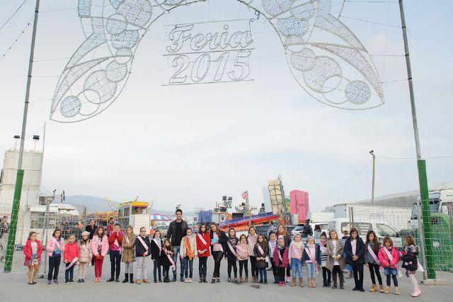 La apertura de las atracciones feriales inicia la programacion infantil de las fiestas, Foto 1