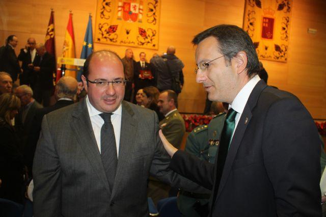 Alhama participa en el acto conmemorativo del XXXVII aniversario de la Constitución Española, Foto 5