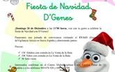 D�Genes celebrar� su fiesta de navidad el pr�ximo 20 de diciembre