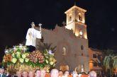 El presidente regional, Pedro Antonio Sánchez compartió con los vecinos de San Javier la festividad de San Francisco Javier