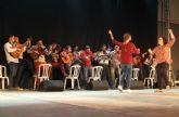 Exhibición de gimnasia rítmica y encuentro de cuadrillas en el inicio de las Fiestas de la Purísima 2015