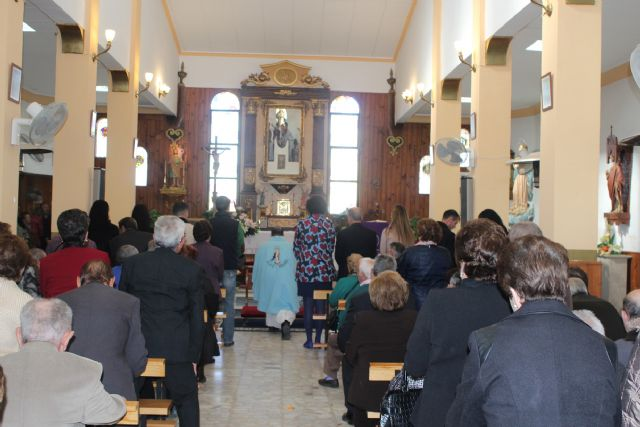 La pedanía lumbrerense de La Estación- Esparragal celebra el día grande de sus fiestas en honor a la Purísima Concepción - 1, Foto 1