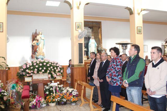 La pedanía lumbrerense de La Estación- Esparragal celebra el día grande de sus fiestas en honor a la Purísima Concepción - 2, Foto 2